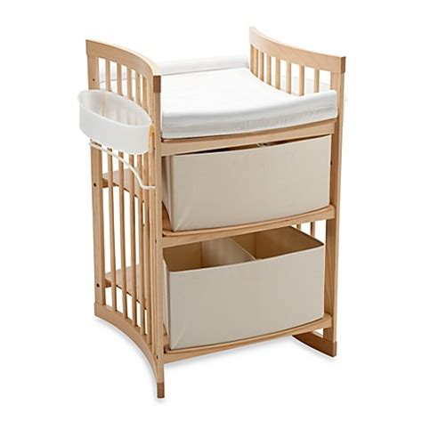standesamt andernach stokke 174 care changing table in natural bed bath beyond