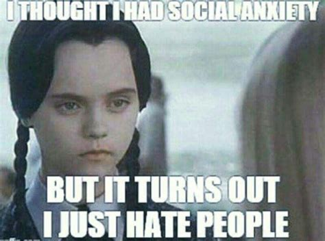 Wednesday Addams Meme - that s what the therapist said funny pinterest