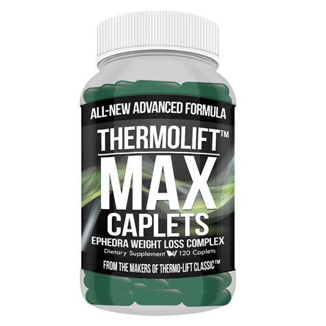 Maximum Loss by Thermolift Max Caplets Maximum Strength Weight Loss