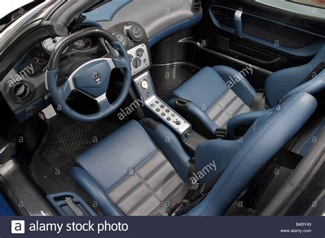 maserati blue interior car maserati mc12 roadster model year 2004 silver