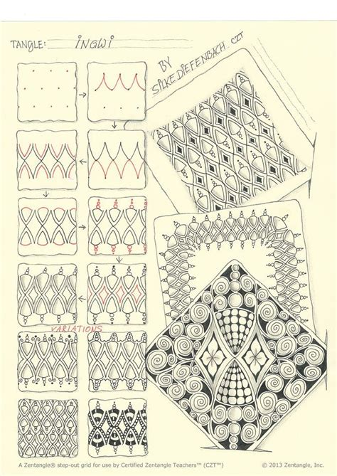 how to draw a tangle doodle part 3 17 best images about tangle patterns i on