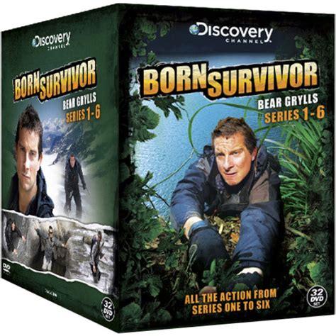 belchester box set series 1 born survivor grylls series 1 6 box set dvd zavvi nl
