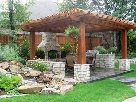 Outdoor Kitchen Arbor Creative Pergola Designs And Diy Options