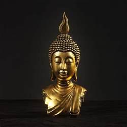 Buddha Home Decor Statues Buddha Peace Buddha Statue Bodhisattva Home Decor Resin Crafts Ornaments 2 Color