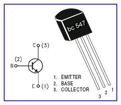 bc547 transistor usage rf lifier low frequency using bc547
