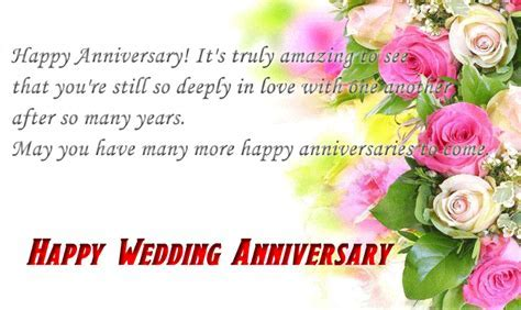 Happy Wedding Anniversary Wishes for Couple   NYWQ