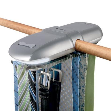 Electric Tie Rack by Brookstone Automatic Tie Rack B002sdvmu4