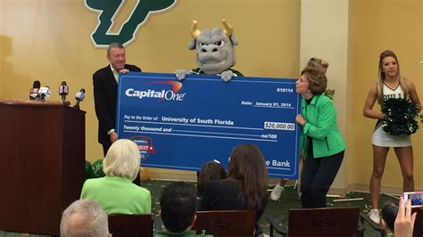 capital one bowl mascot challenge usf wins a mascot contest meanwhile ucf wins a bcs bowl