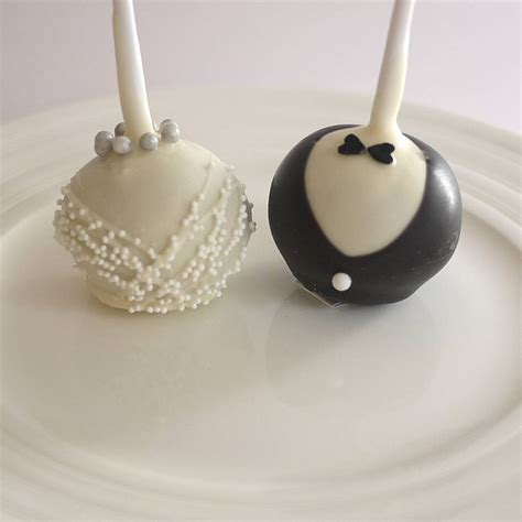 Wedding Cake Pops by Groom Wedding Cake Pops By The Cake Pop Company