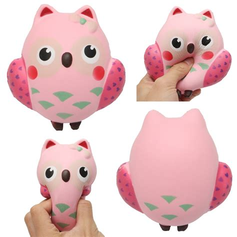 Soft And Slowrise Squishy Bathing Animal By squishy owl rebound squeeze rising soft animal pet collection gift decor