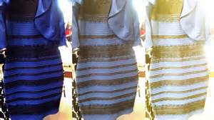 dress colors black blue or gold white dress explained