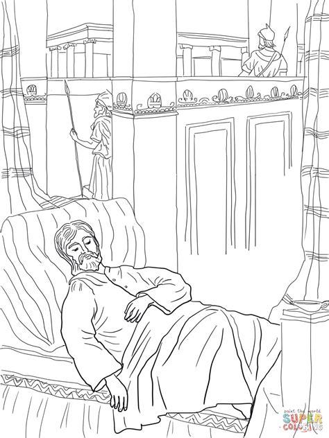 Solomon Asks For Wisdom Coloring Page solomon asks for wisdom coloring coloring