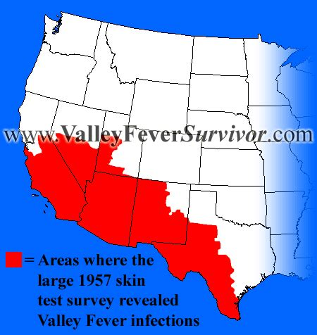 valley fever map california www valleyfeversurvivor valley fever maps and history