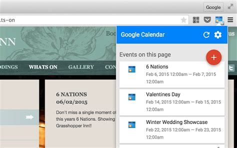 Calendar Print Extension Calendar Chrome Extension Calendar Template 2016