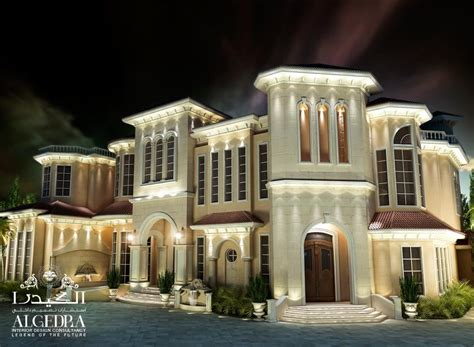 luxury villas exterior design in uae dubai uae