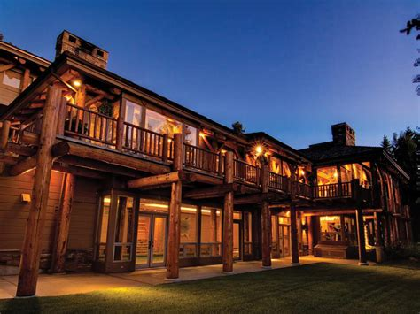 12 bedroom house house of the day 49 million for a 12 bedroom log cabin