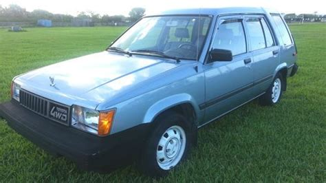 1983 Toyota Tercel Sell Used 1983 Toyota Tercel 4wd All Original 1 Owner