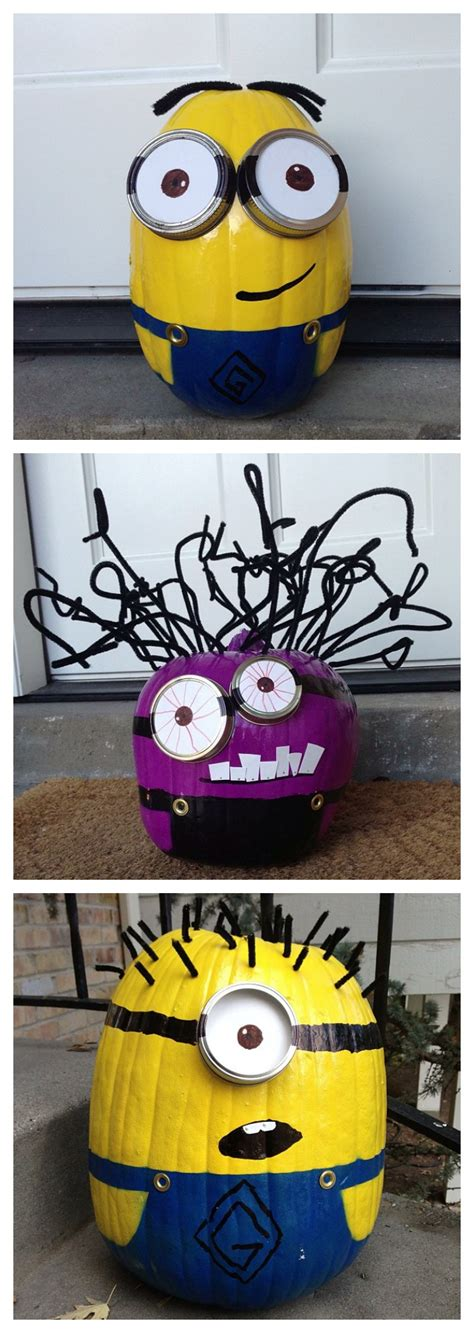 Minion Pumpkin Decorating by Minion Fans 22 Ideas To Get More Minions In Your