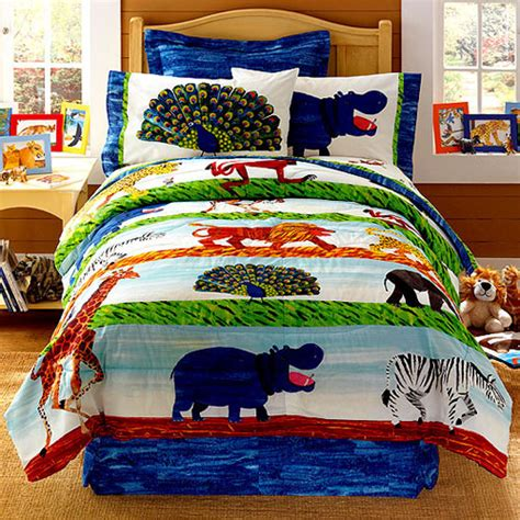 african comforter set african savannah by eric carle full comforter sheet set