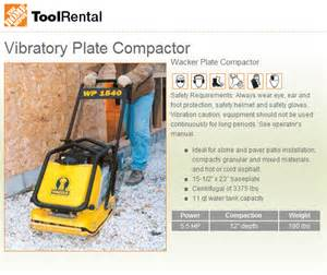 home depot compactor rental patio with 12x12 pavers the home depot community