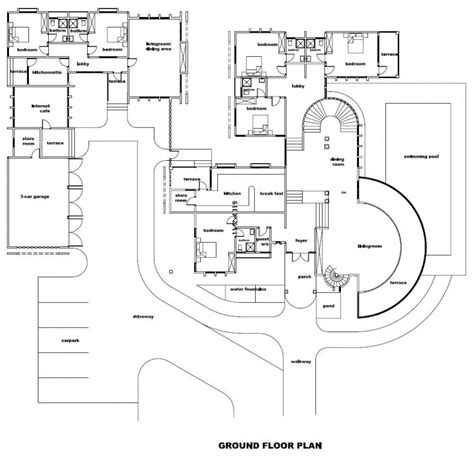 luxury floor plans for new homes new home plans