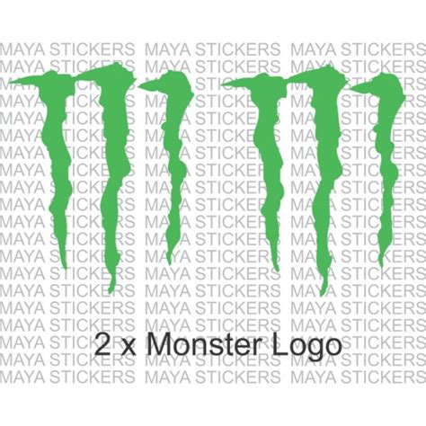 Monster Energy Sticker India by Monster Energy Logo Sticker Decal For Cars Bikes Laptop