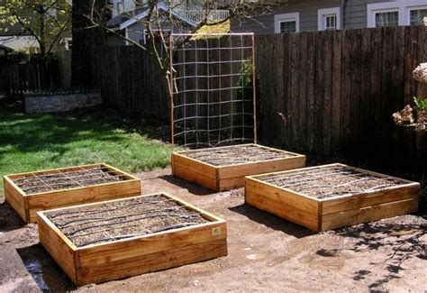 raised garden bed frame raised bed garden frame plan