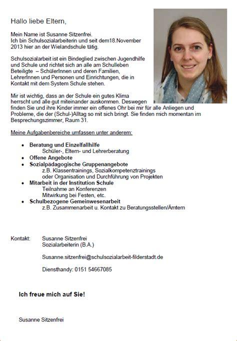 Bewerbung Fur Schulerpraktikum In Grundschule 12 Vorstellungsbrief F 252 R Die Eltern Kindergarten