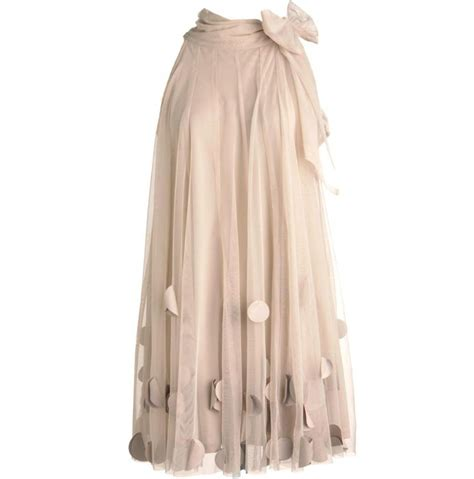 new design applique tulle skirt ribbons bow waist a line