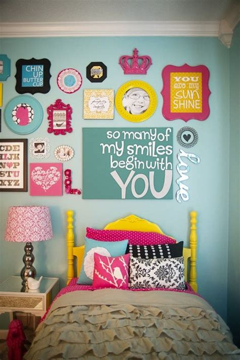 bedroom messages collage walls picmia