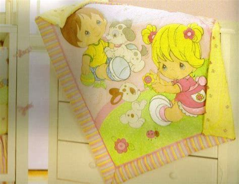 Precious Moments Baby Bedding by Precious Moments 4pc Crib Nursery Bedding Set By Baby Boom