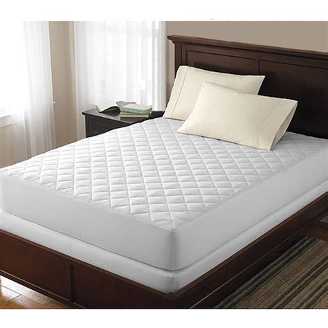 Mattress Pad Cover by Bed Bug Dust Mite Allergy Relief Waterproof Quilted