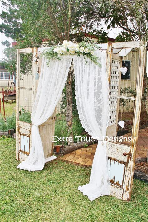 Wedding Arch Made From Doors by Best 25 Doors Wedding Ideas On Outdoor