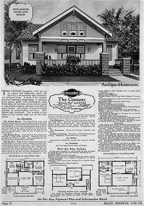 17 best images about sears kit homes on pinterest queen sears conway kit home sears modern home the conway