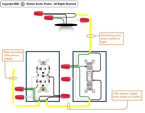 wiring switch leg diagram repair wiring scheme