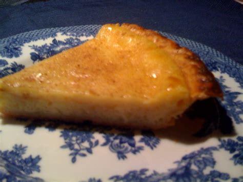 sweet tea and cornbread old fashioned egg custard pie