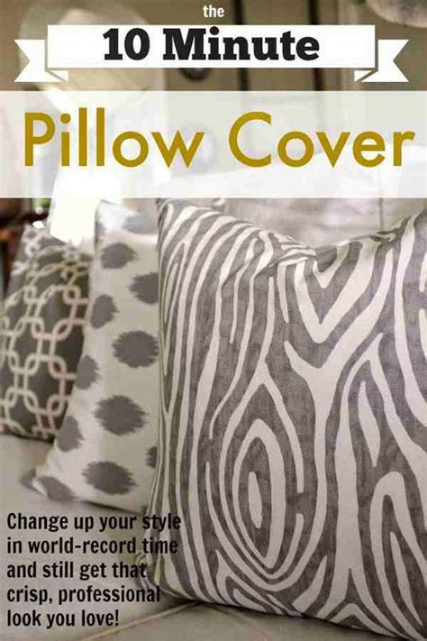 How To Make A Pillow Cover by 17 And Simple Diy Pillow Ideas 2 Pillow Print Covers