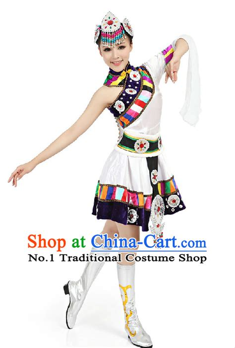 hair spray dance accessories and discount dance supply chinese traditional tibetan clothing complete set