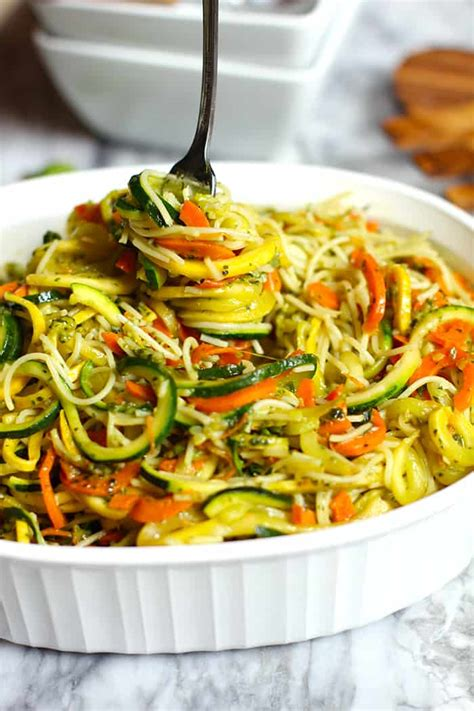 hair pasta vegetarian recipes pesto vegetable pasta suebee homemaker