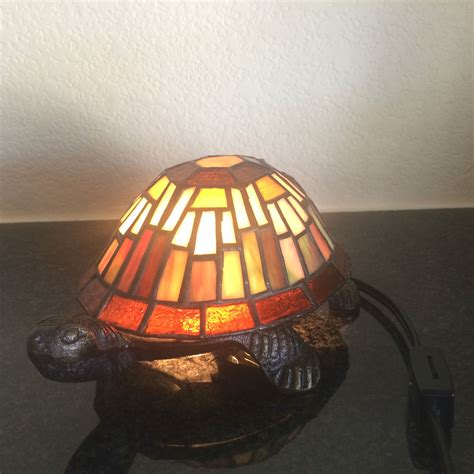 stained glass turtle l stained glass tiffany style mosaic turtle shell accent