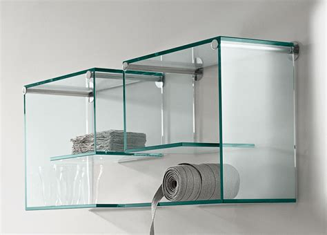 Glass Shelving For Bathrooms Objects Of Design 117 Alfabeta Glass Shelves Mad About The House