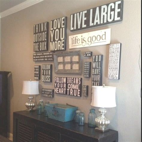 Inspirational Quotes Canvas Wall