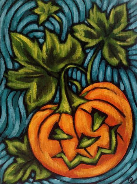 Diskon Maries Orange Cat Acrylic orange pumpkin colourful acrylic painting
