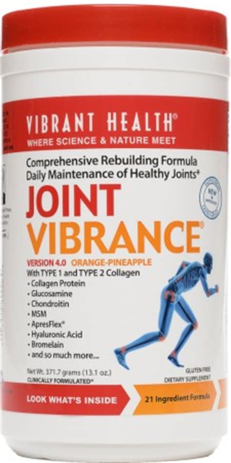supplement to rebuild cartilage joint vibrance msm glucosamine collagen joint