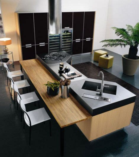 modern island kitchen designs minimalistic modern luxury kitchen island design with wooden contemporary furniture bar and