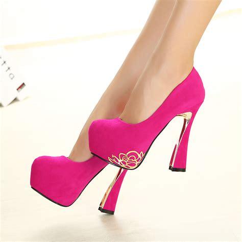 Pink Womens Designer Shoes 2016