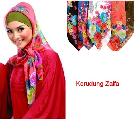Vicenca Jilbab Motif Modern Sutera Satin Kerudung Motif Modern 1 model jilbab cantik scarf