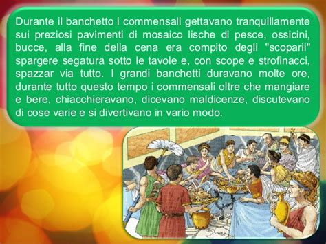 banchetti romani romani