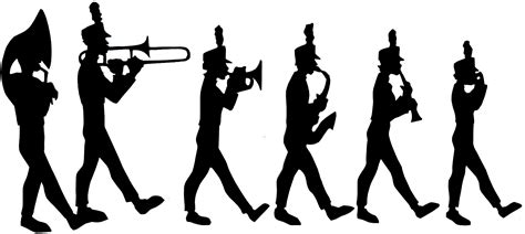 Drum Animal Concert marching cliparts