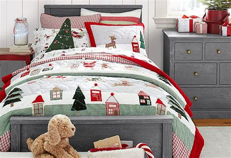 pottery barn christmas bedding 6 ways to get your home perfectly festive for christmas